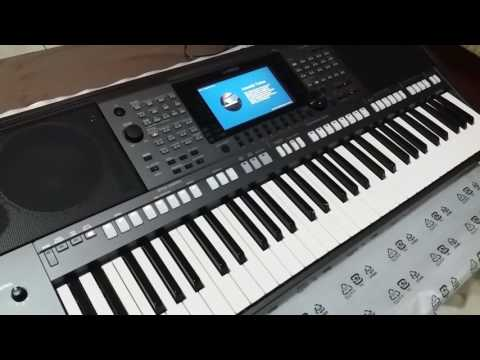 Yamaha psr s770 unboxing and review .