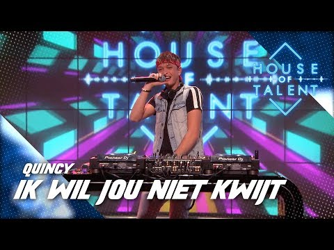 DJ Quincy bouwt een feestje in House of Talent!