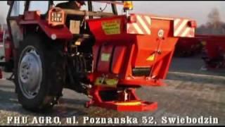 FHU AGRO Świebodzin, maszyny, piaskarki, części rolnicze