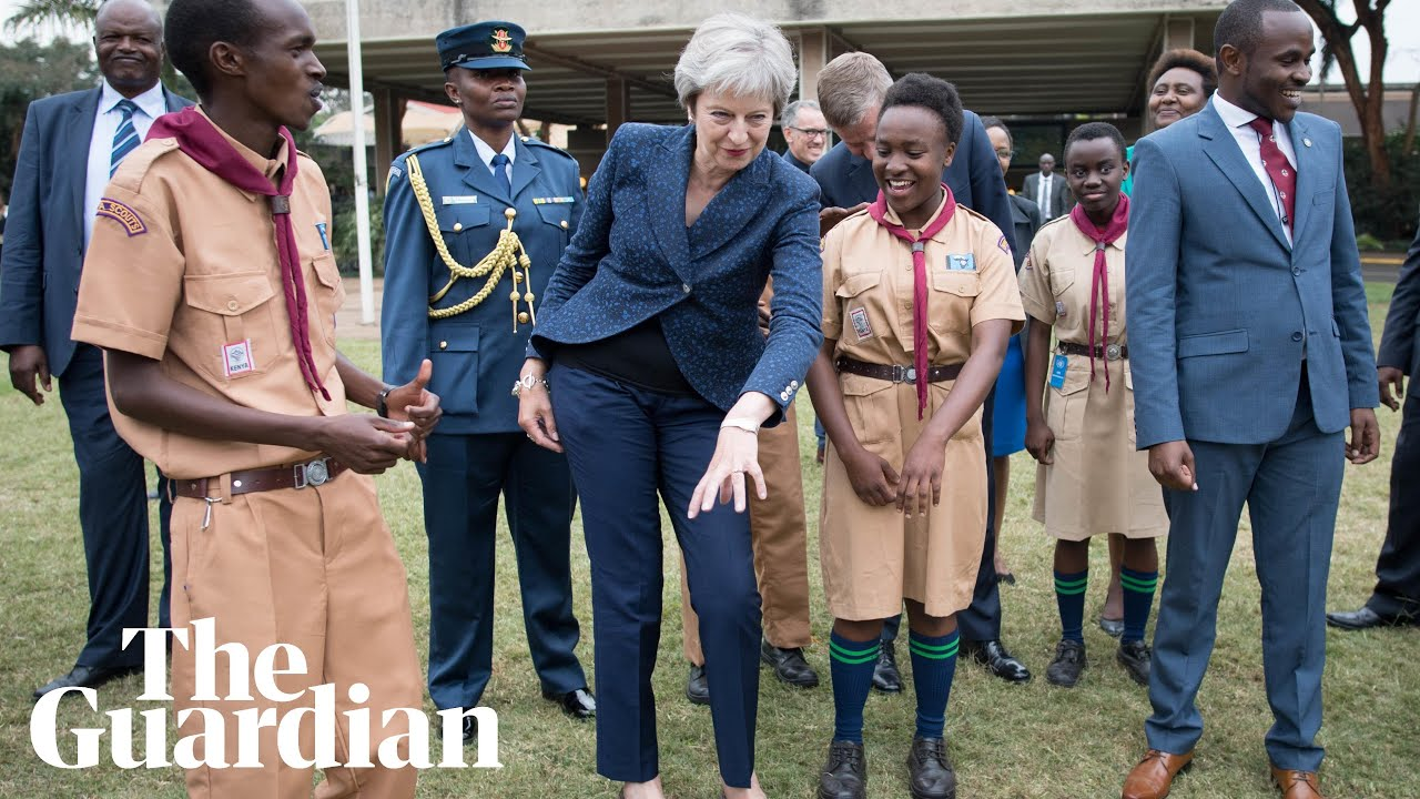 Africa Stop Dancing With Uncoordinated  PALIENS: Theresa May