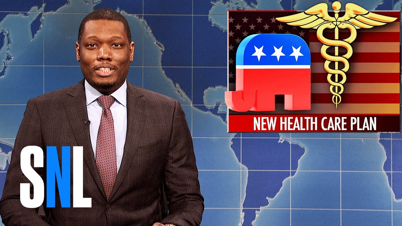 Weekend Update on Trumpcare - SNL