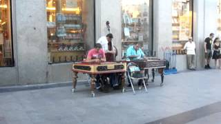 Cimbalom Players in Madrid