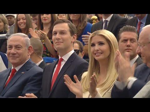 Estados Unidos inauguram em Jerusalém nova embaixada do país em Israel
