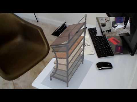 AR Virtual Prototype  - Flooring Display Scale Model