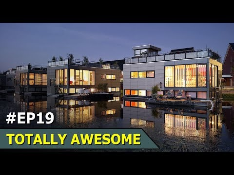 Floating House In Netherland | Totally Awesome | Episode 19