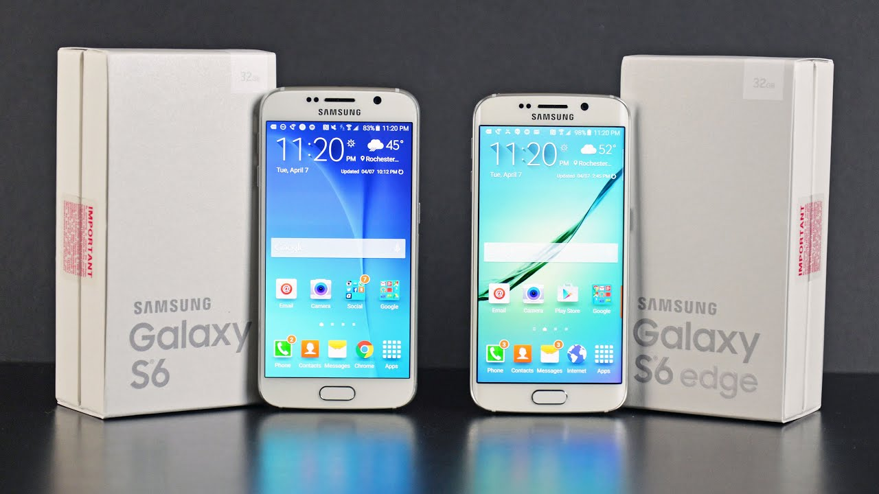 samsung galaxy s6 vs edge