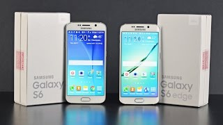 Samsung Galaxy S6 vs S6 Edge: Unboxing & Comparison
