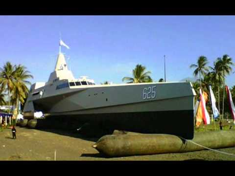 stealth ship made in Indonesia,Trimaran missile ship