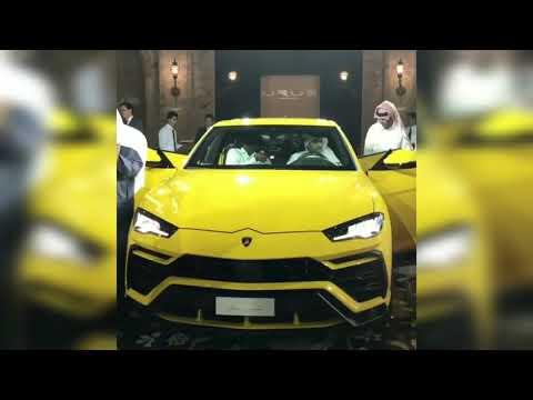 The New Lamborghini Urus.