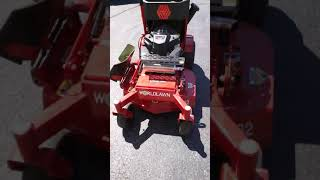 Worldlawn venom 32 stander w/ remote discharge control initial impression and review