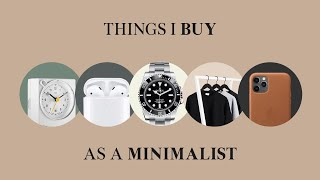 Minimalist Essentials | Things I Buy As a Minimalist screenshot 4