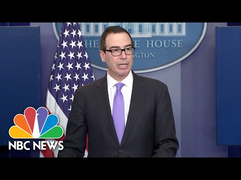 Treasury Secretary Steve Mnuchin Sanctions Venezuelan VP For Narcotics Trafficking | NBC News