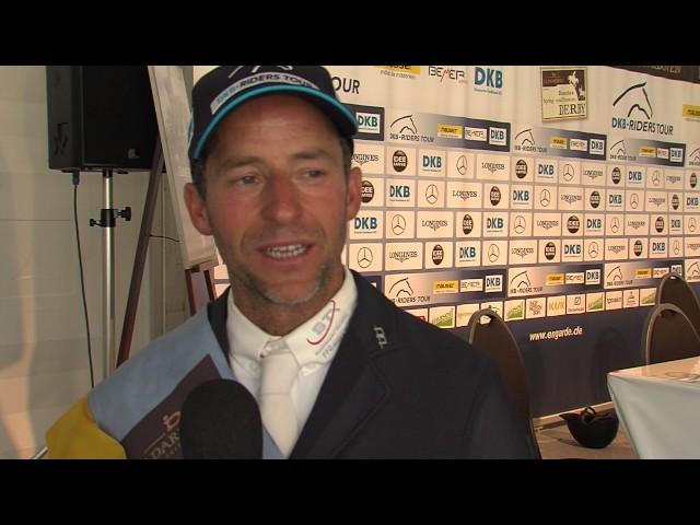Pato Muente - Emotion pur beim Sieger zweite Wertungsprüfung DKB-Riders Tour