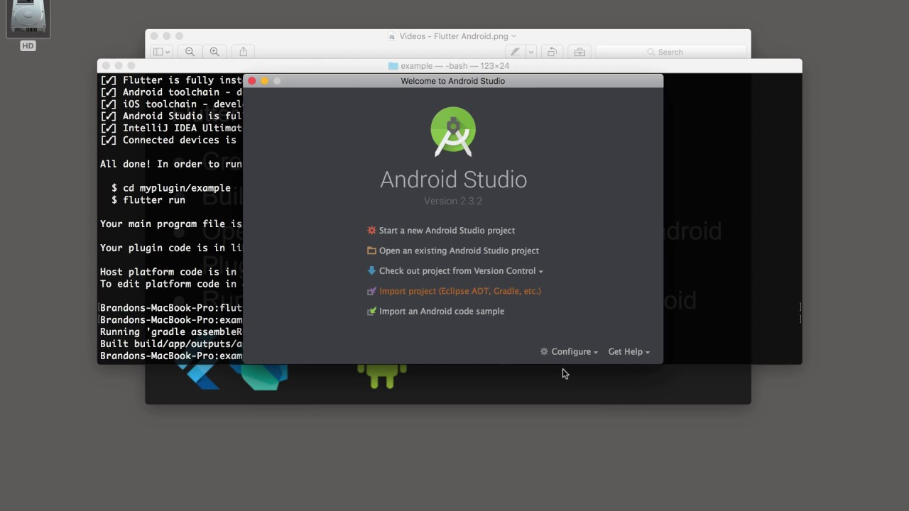 Flutter - Edit the Android Plugin Bits - YouTube