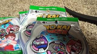 Series 3 Yokai Medal Unbagging With QR Codes 3