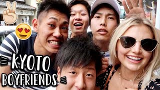 I GOT NEW BOYFRIENDS IN JAPAN! KYOTO VLOG!