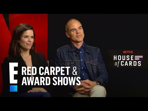 Michael Kelly & Neve Campbell Tease