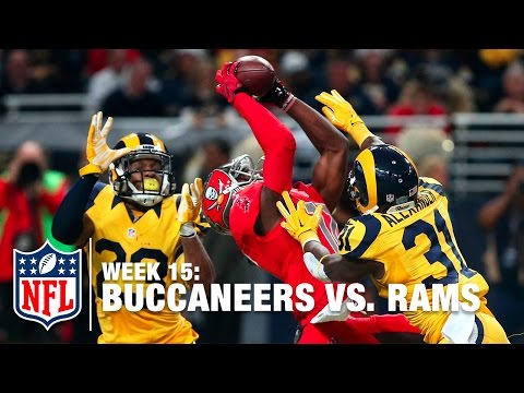 Near Fail: Tampa Bay WR Donteea Dye Celebrates Too Early! | Buccaneers vs. Rams | NFL