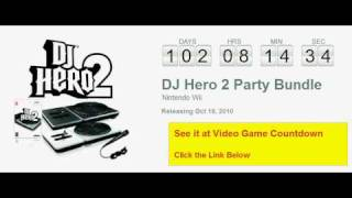 DJ Hero 2 Party Bundle Wii Countdown