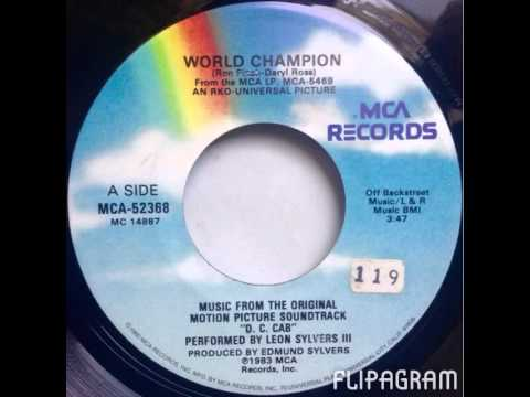 Leon Sylvers III - World Champion (MCA Records)