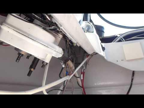 Boat Teleflex Steering Install #4