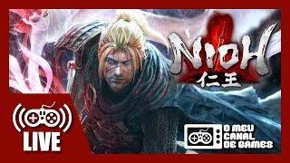 [Live] Nioh (PS4 Pro) - Coop c/ VICTOR KRATOS AO VIVO #2 (Aquecimento NIOH 2)