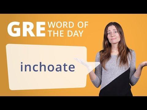 GRE Vocab Word