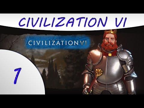 Civilization 6 Gameplay -1- German Empire - Barbarossa