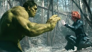 [HD 2160p]   HULK and BLACK WIDOW - Avengers 2 MOVIE CLIP