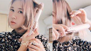 [Self hair s…