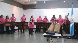 Marimba Femenina de Concierto - El Rey Quiche