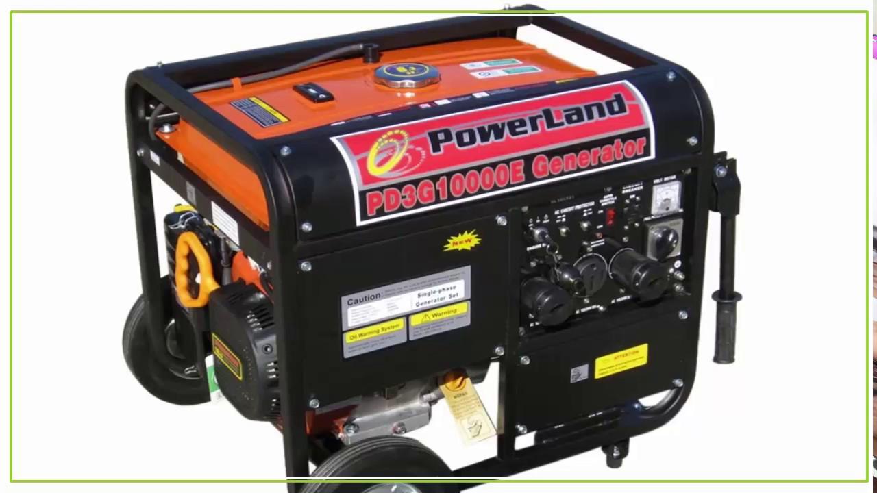 Land Pd3g10000e Tri Fuel Portable Generator Review