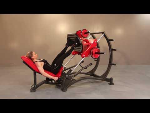 1HP586 - Leg press 45°