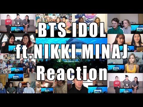 BTS (방탄소년단) 'IDOL (Feat. Nicki Minaj)'  Reaction Mashup
