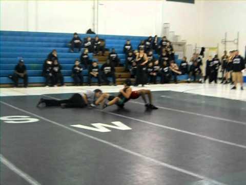 Southwest Middle School vs Welborn Middle School-Reece Parillo 12/12/11