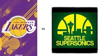 78-79 Sonics Vs 71-72 Lakers Trailer