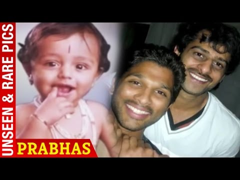 Prabhas Rare & Unseen Pics | Prabhas Childhood Photos