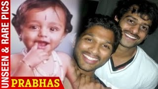 Repeat youtube video Prabhas Rare & Unseen Pics | Prabhas Childhood Photos
