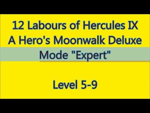 12 Labours of Hercules IX - A Hero's Moonwalk Deluxe Level 5-9 |