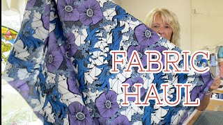 Sewing Studio Fabric Superstore Haul!