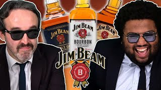 Irish People Try Jim Beam Bourbon