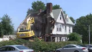 Mackey Funeral Home Demolition - Danvers, MA