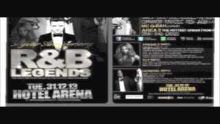 THE BEST OF R&B LEGENDS 5 YEAR ANNIVERSARY 31-12-13 HOTEL ARENA AMSTERDAM