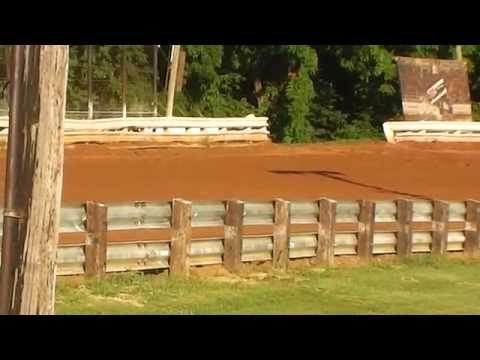 Williams Grove Speedway 7-5-14  358 Late Model Warmup 1
