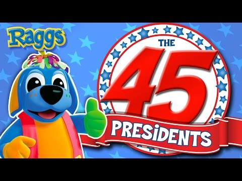 The 45 Presidents Song  NEW President Donald Trump!  Raggs