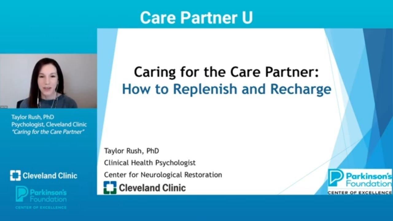 Caring for the Parkinson's Disease Care Partner
