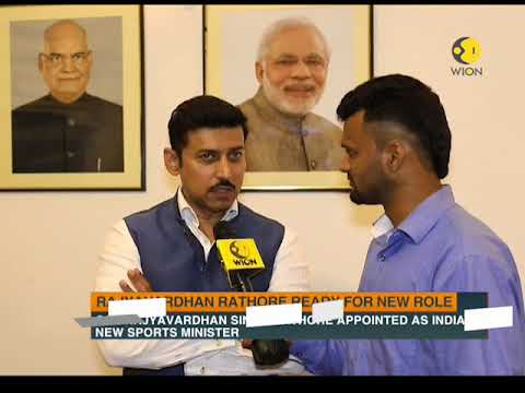 Watch: Exclusive interview with new sports minister Rajyavardhan Rathore