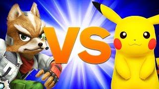 Super Smash Bros. Melee - The Closest Pikachu Fox Match Ever Played - Evo 2014