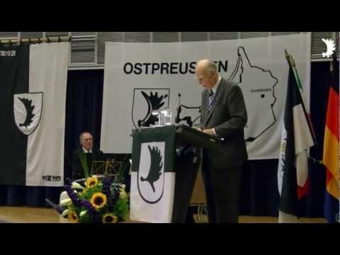 Grußwort des BdV-Landesvorsitzenden Hans-Günther Parplies - 60 Jahre LO-Kreisgruppe Bonn