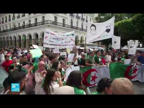 الطلاب يتظاهرون مجدّدا وسط الجزائر بعد منع مسيرتهم الأسبوع الماضي  - 16:57-2019 / 10 / 22
